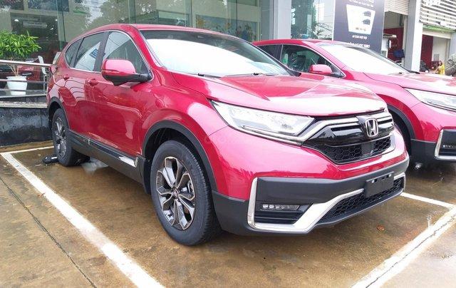 Honda Ôtô Thanh Hóa, giao ngay Honda CRV 1.5L màu đỏ, đời 2020, khuyến mại 100% phí trước bạ1