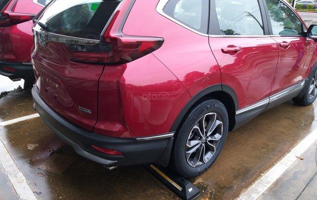 Honda Ôtô Thanh Hóa, giao ngay Honda CRV 1.5L màu đỏ, đời 2020, khuyến mại 100% phí trước bạ2