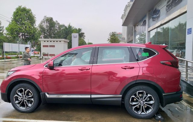 Honda Ôtô Thanh Hóa, giao ngay Honda CRV 1.5L màu đỏ, đời 2020, khuyến mại 100% phí trước bạ5