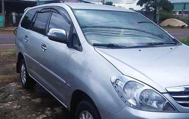 Bán ô tô Toyota Innova sản xuất năm 2009, màu bạc còn mới0
