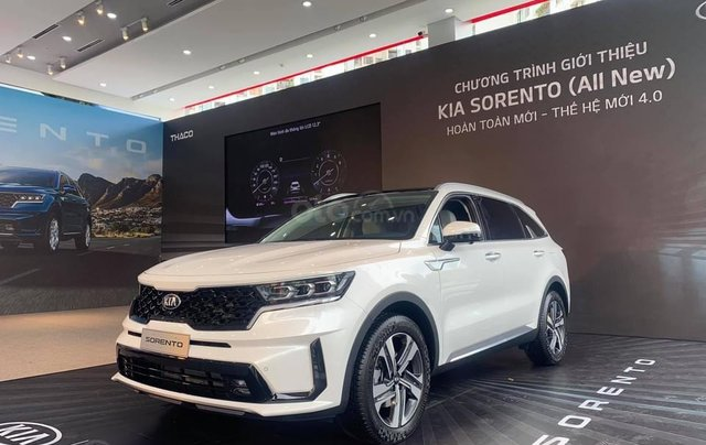 [Hot] KIA Sorento All New 2021 ưu đãi 20 triệu, xe giao ngay trong tháng 11 với đầy đủ các phiên bản và màu, 50% phí TB1