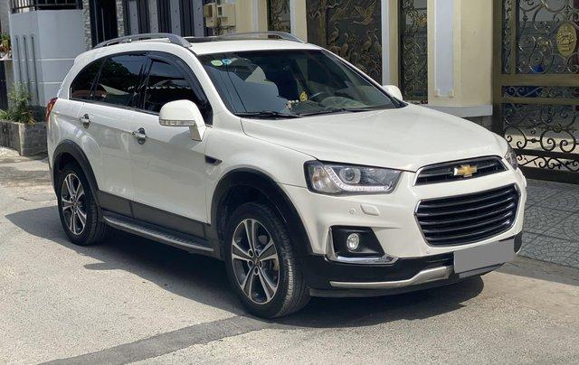 Cần bán lại xe Chevrolet Captiva năm sản xuất 2017, màu trắng chính chủ1