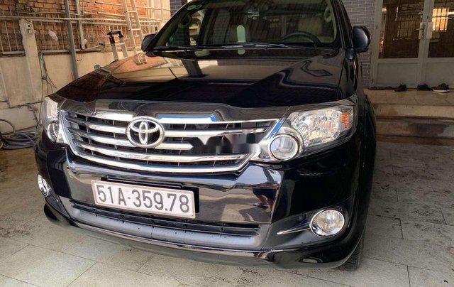 Cần bán lại xe Toyota Fortuner đời 2012, màu đen, nhập khẩu nguyên chiếc, giá chỉ 530 triệu0