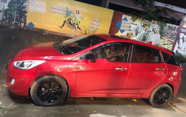 Bán xe Hyundai Accent sản xuất 2014, màu đỏ, 410 triệu4