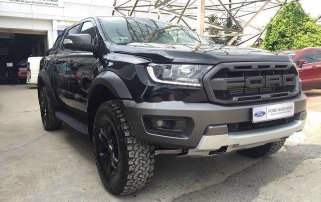 Bán Ford Ranger Raptor sản xuất năm 2019, màu đen số tự động, xe lướt1