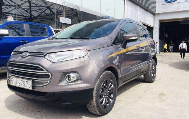 Chính chủ bán lại xe Ford EcoSport sản xuất 2014, màu xám1