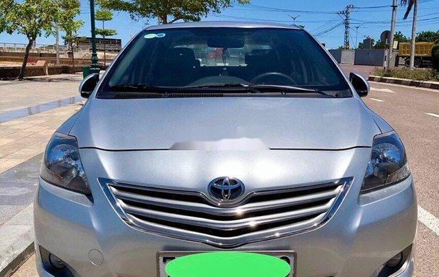 Bán Toyota Vios đời 2012, màu bạc số sàn, giá chỉ 305 triệu1