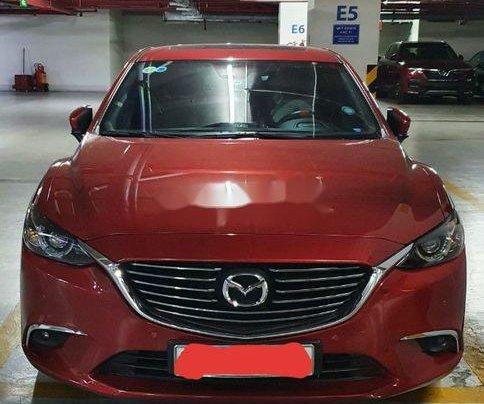 Bán Mazda 6 sản xuất 2017, màu đỏ, nhập khẩu nguyên chiếc 0