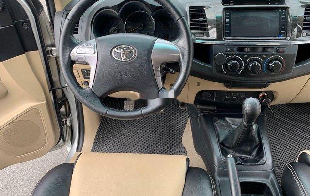 Bán Toyota Fortuner năm 2014, màu bạc số sàn, 655tr9