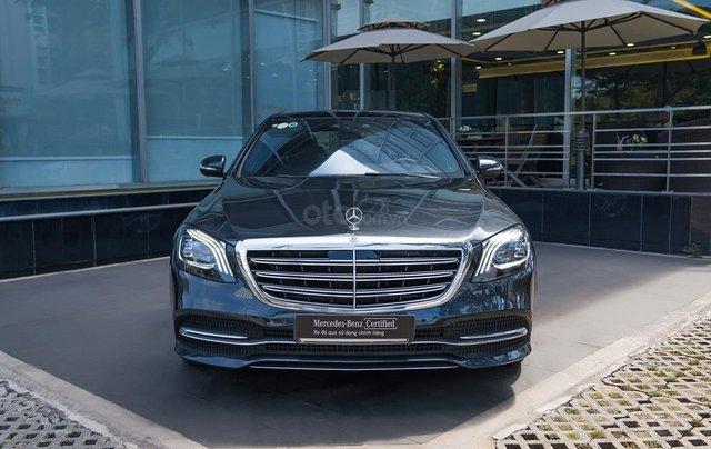 Mercedes-Benz S450L, xe lướt 50km, tặng bảo hiểm + phụ kiện đặc biệt0