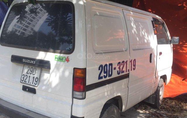 Công ty bán thanh lý xe Suzuki tải Van 550kg màu trắng1