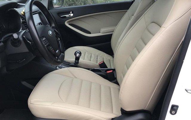 Bán ô tô Kia Cerato sản xuất 2018, màu trắng mới 95% giá 538 triệu đồng3
