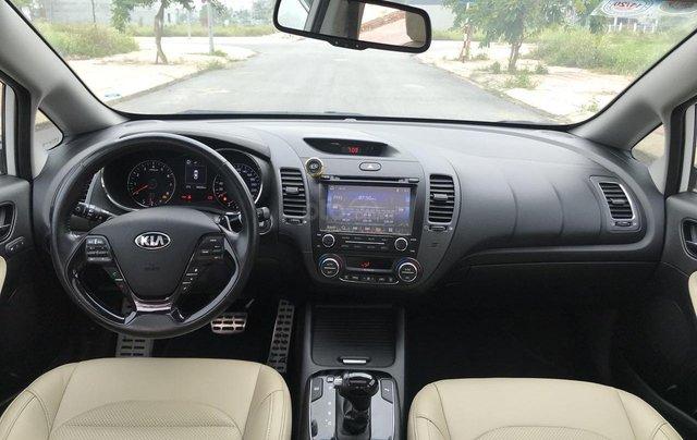 Bán ô tô Kia Cerato sản xuất 2018, màu trắng mới 95% giá 538 triệu đồng10