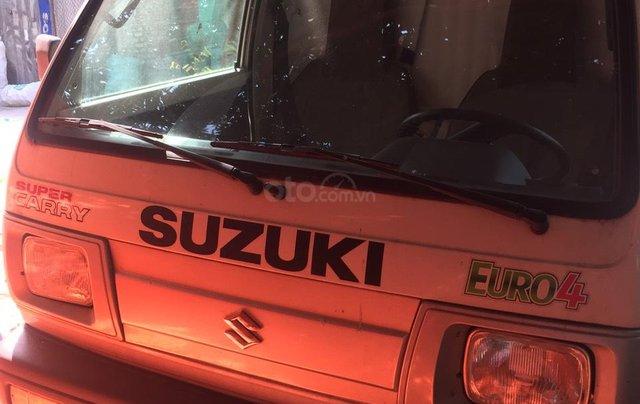 Công ty bán thanh lý xe Suzuki tải Van 550kg màu trắng3
