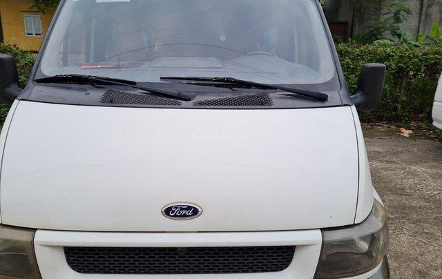 Xe Ford Transit 16 chỗ máy dầu 2 4 xe 4 cửa nội thất vàng chạy 12 0000km 8L /100km xe Việt Nam SX 20050