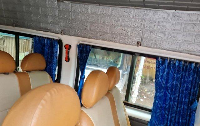 Xe Ford Transit 16 chỗ máy dầu 2 4 xe 4 cửa nội thất vàng chạy 12 0000km 8L /100km xe Việt Nam SX 200513