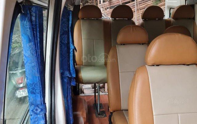 Xe Ford Transit 16 chỗ máy dầu 2 4 xe 4 cửa nội thất vàng chạy 12 0000km 8L /100km xe Việt Nam SX 200514