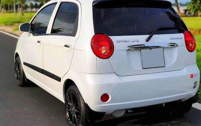Bán xe Chevrolet Spark sản xuất 2015, màu trắng1