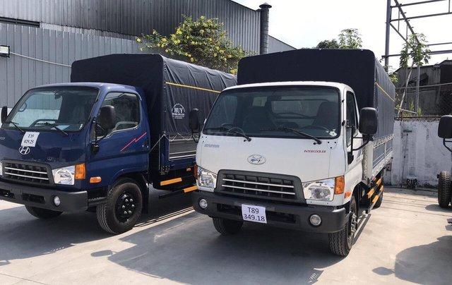 Xe tải Hyundai Mighty 2017 - ga cơ - vay cao - trả 110tr0