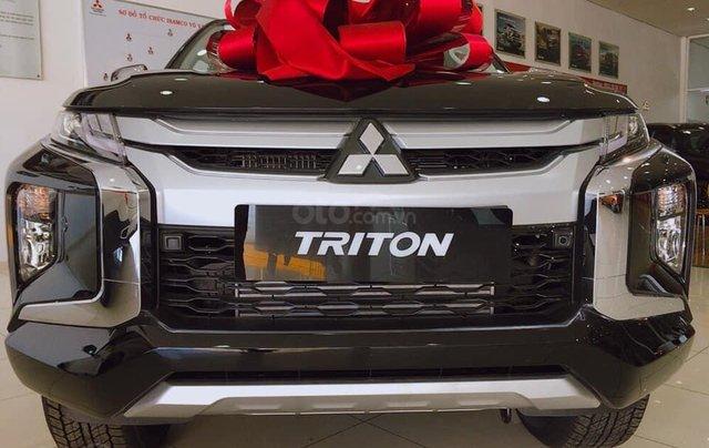 Hỗ trợ mua xe giá thấp chiếc Mitsubishi Triton đời 2020, giao nhanh toàn quốc0
