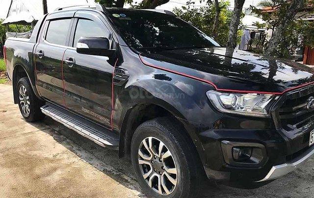 Bán Ford Ranger năm 2018, màu đen, nhập khẩu, chính chủ 0