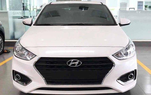 Bán xe Hyundai Accent năm sản xuất 2020, màu trắng, giá 425tr1