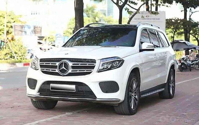 Bán Mercedes GLS500 sản xuất 2017, màu trắng, nhập khẩu0