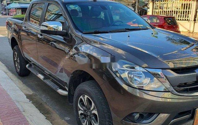 Bán Mazda BT 50 sản xuất năm 2017, màu nâu, nhập khẩu số tự động, giá 508tr2