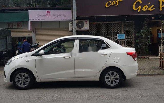 Bán ô tô Hyundai Grand i10 sản xuất năm 2016, màu trắng số sàn3