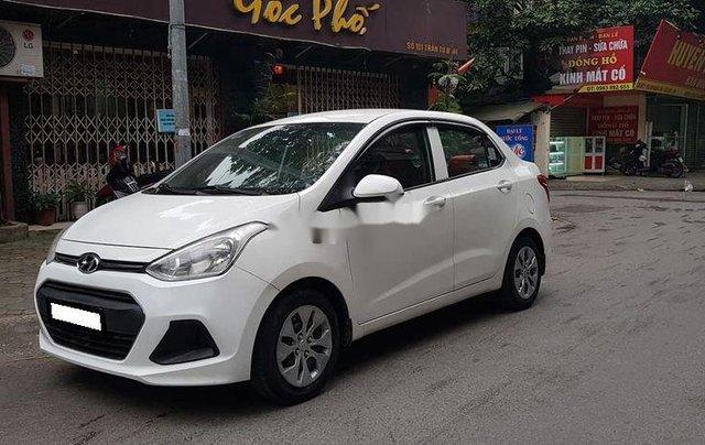 Bán ô tô Hyundai Grand i10 sản xuất năm 2016, màu trắng số sàn6
