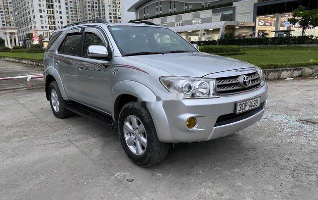 Cần bán xe Toyota Fortuner 2009, màu bạc5