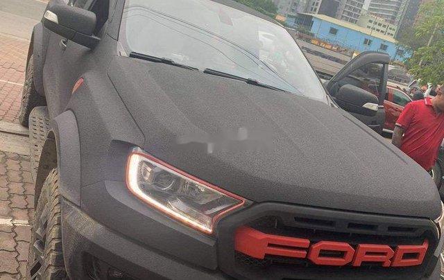 Gia đình bán xe Ford Ranger Raptor năm 2019, màu đen, nhập khẩu2