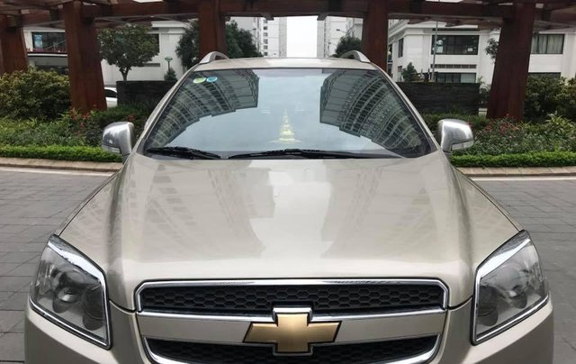 Bán Chevrolet Captiva sản xuất năm 2010, màu vàng số tự động 4
