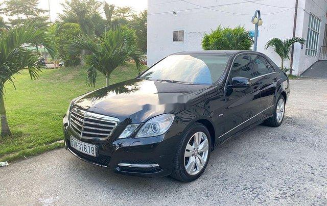 Cần bán xe Mercedes E250 sản xuất 2012, màu đen, giá chỉ 699 triệu1