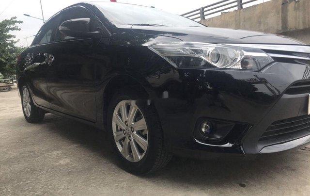 Bán ô tô Toyota Vios đời 2017, màu đen số tự động0