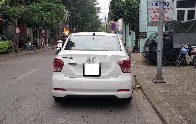 Bán ô tô Hyundai Grand i10 sản xuất năm 2016, màu trắng số sàn1