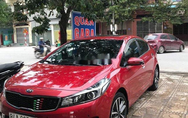Cần bán xe Kia Cerato sản xuất năm 2016, màu đỏ0