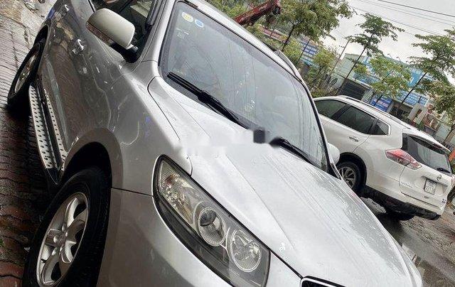 Bán Hyundai Santa Fe sản xuất năm 2007, màu bạc, xe nhập số tự động1