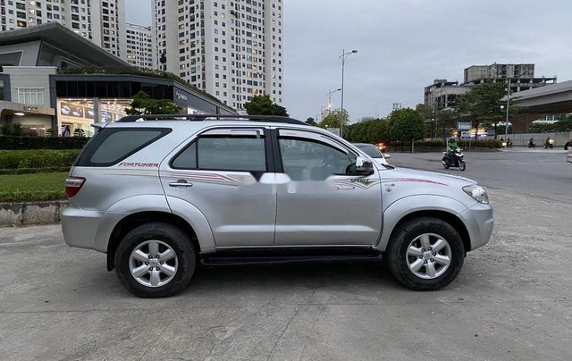 Cần bán xe Toyota Fortuner 2009, màu bạc2