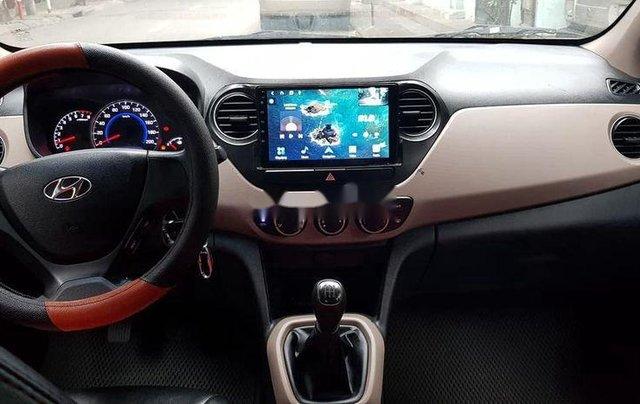 Bán ô tô Hyundai Grand i10 sản xuất năm 2016, màu trắng số sàn4