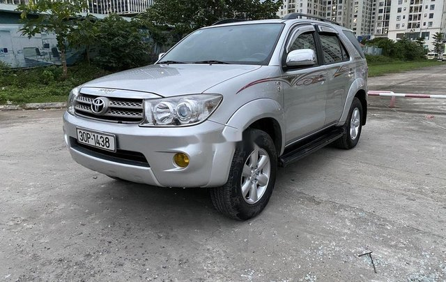 Cần bán xe Toyota Fortuner 2009, màu bạc4
