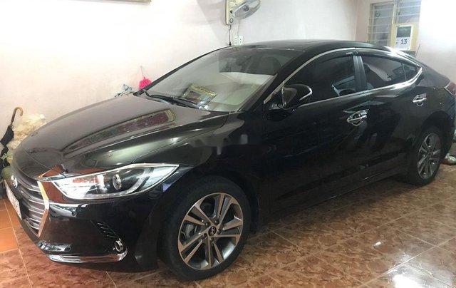 Bán xe Hyundai Elantra đời 2016, màu đen2
