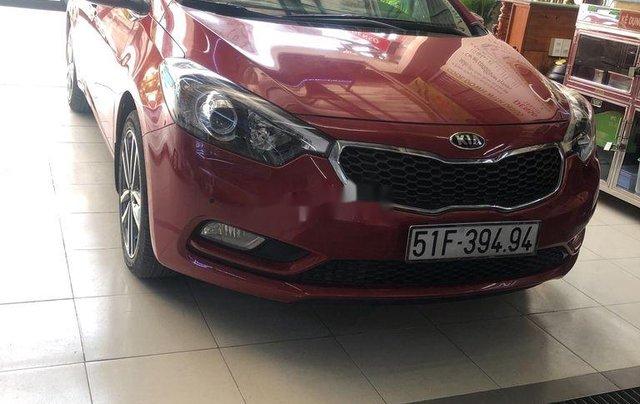 Bán xe Kia K3 năm sản xuất 2016, màu đỏ0