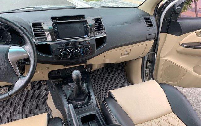 Bán Toyota Fortuner năm 2014, màu bạc số sàn, 655tr10