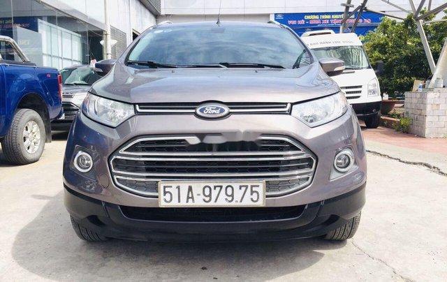 Chính chủ bán lại xe Ford EcoSport sản xuất 2014, màu xám0