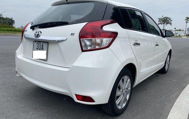 Bán ô tô Toyota Yaris năm 2014, màu trắng, nhập khẩu nguyên chiếc3