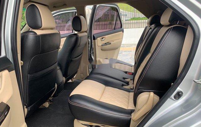 Bán Toyota Fortuner năm 2014, màu bạc số sàn, 655tr7