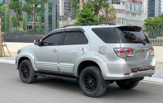 Bán Toyota Fortuner năm 2014, màu bạc số sàn, 655tr3