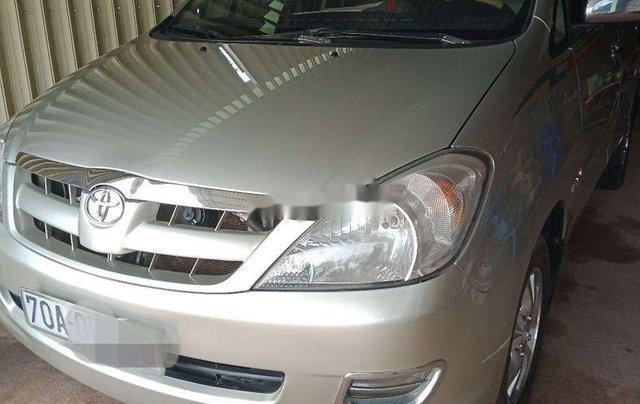 Cần bán lại xe Toyota Innova đời 2007, màu bạc, giá chỉ 315 triệu2