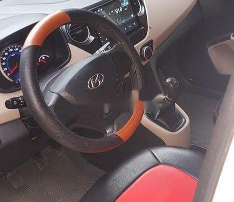 Bán ô tô Hyundai Grand i10 sản xuất năm 2016, màu trắng số sàn7